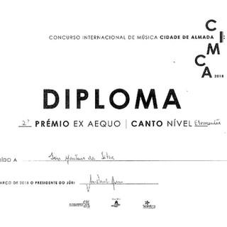 Diploma Íris Silva