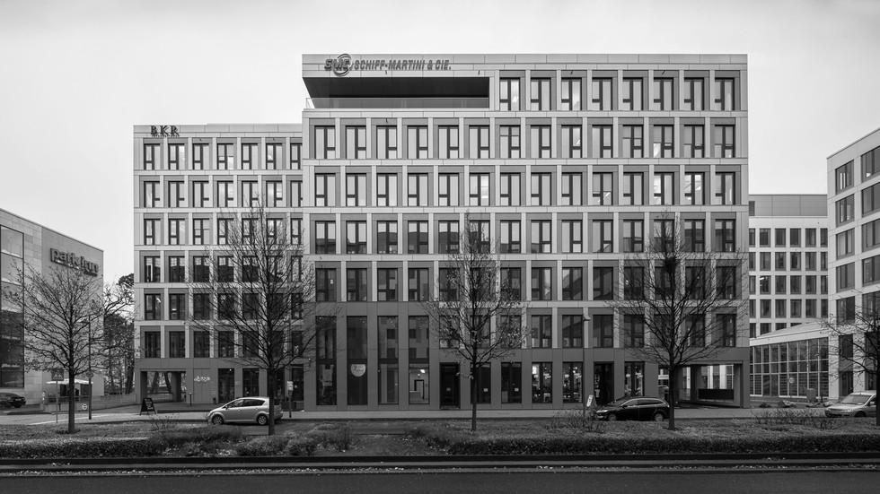 Architekturfotografie Frankfurt-Mario Brand-Lindberghs Office in den Gateway Gardens