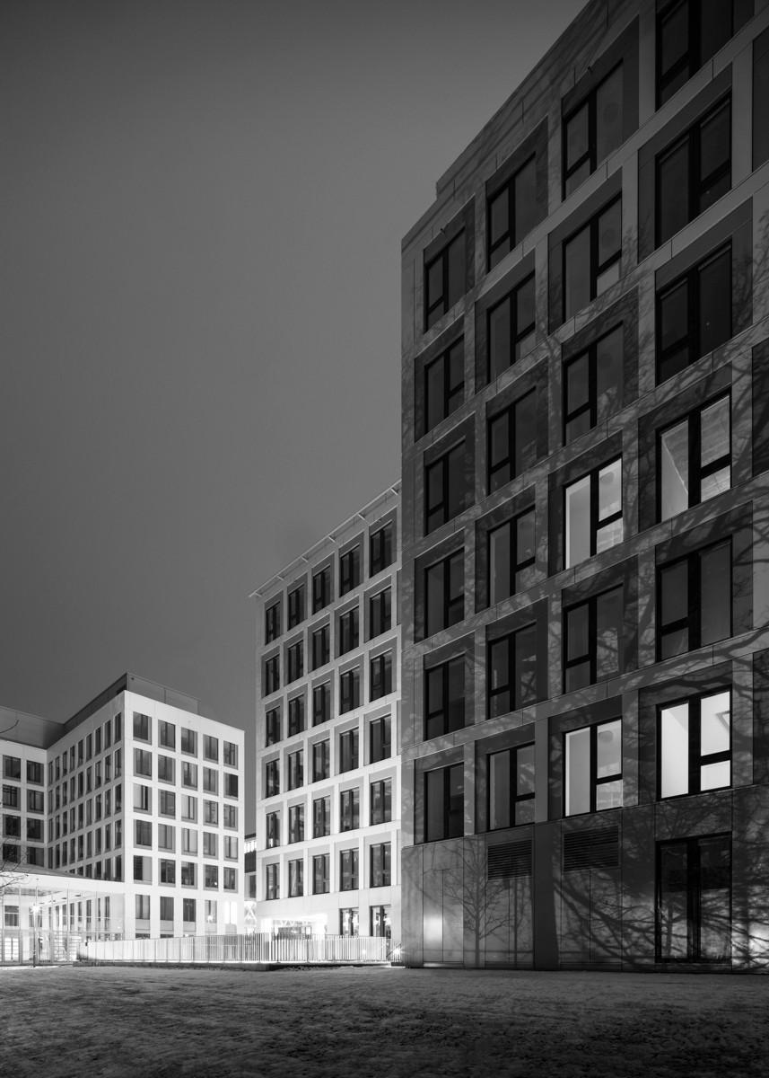 Architekturfotografie GatewayGardens Frankfurt