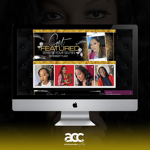One Page Wix Website Design