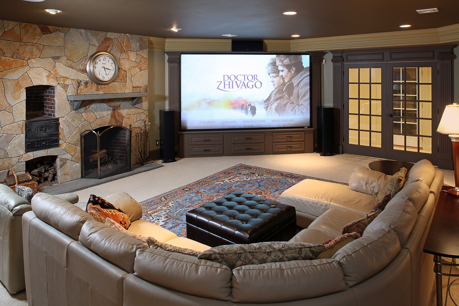 Lower Level Home Theater view #1 (0188)