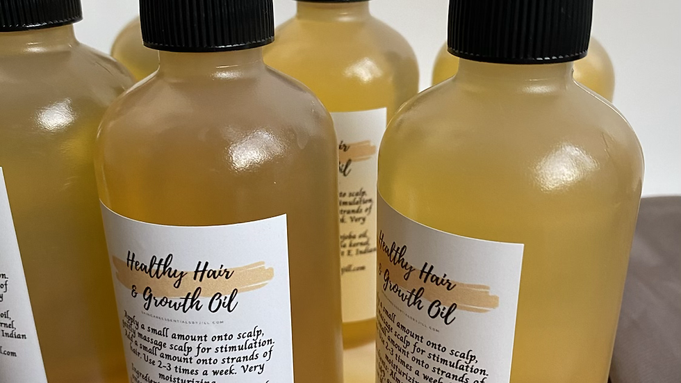 Healthy Hair & Growth Oil 6oz!