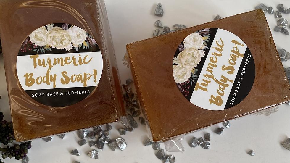 Honey Turmeric Body Soap