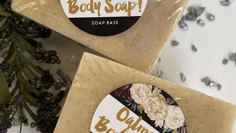 Oatmeal Body Soap- 2 Square Bars in a set