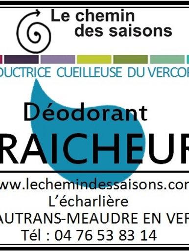 Déodorant  FRAICHEUR