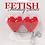 Thumbnail: Fetish Fantasy Vibrating Heart Pasties in Red