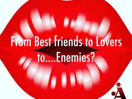 Best friends to Lovers to.... Enemies?