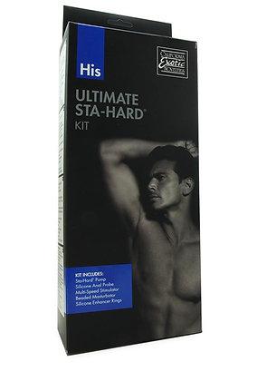 His Ultimate Sta-Hard Kit in Blue/Black