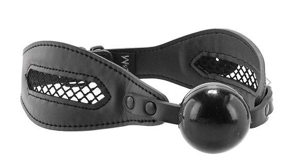 Sex & Mischief Fishnet Ball Gag