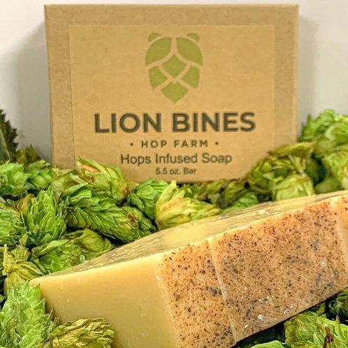 Lion Bines Hop Infused Soap