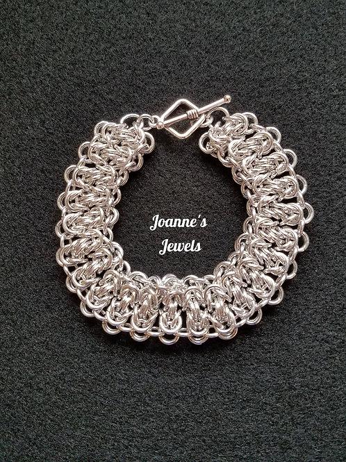 Stacked Byzantine Weave Bracelet
