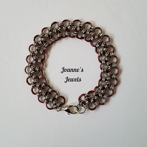 Japanese Lace Chain Maille Bracelet