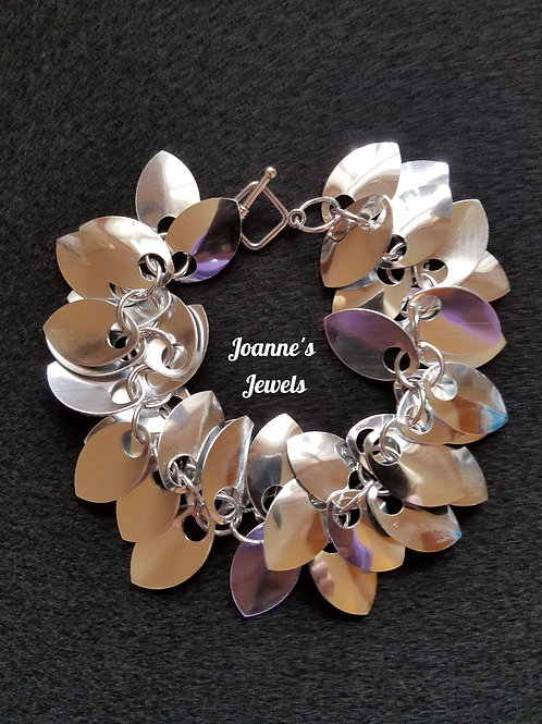 Mirrored Scale Maille Bracelet
