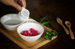 "Thai ""Red Rubies"" Water Chestnuts in"