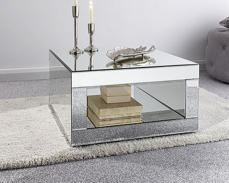 Capri Mirrored Coffee Table