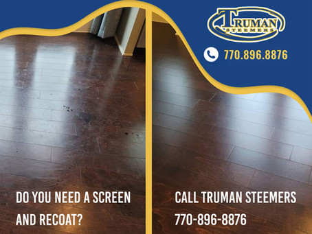 What Does it Mean to Screen and Recoat Hardwood Floors?