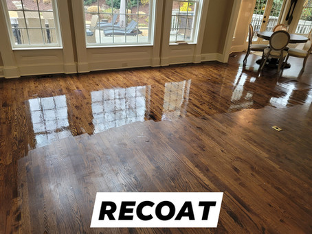 Hardwood Floor Refinishing - When to Sand and Not to Sand
