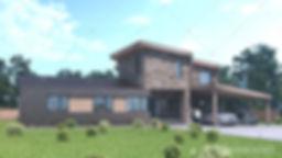 архитектурный проект дома в Витебске