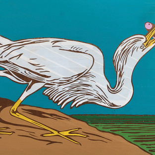 """1821-1837  John James Audubon lives in New Orleans while working on his series """"The Birds of America"""""""