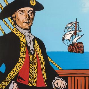1777 Bernardo de Galvez, Gov of Louisiana wins several major battles against the British in the American Revolution
