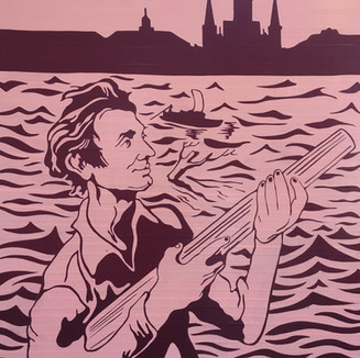 1828-1831 Abraham Lincoln ventures to New Orleans by flatboat on three occasions