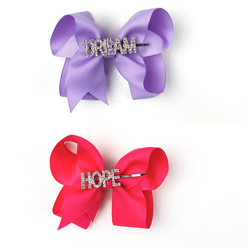 Bow Pack (2 Bows, DREAM HOPE LOVE)