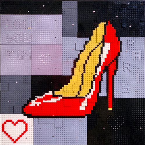 "LEGO LOUBOUTIN RED EDITION 24"" X 2"""