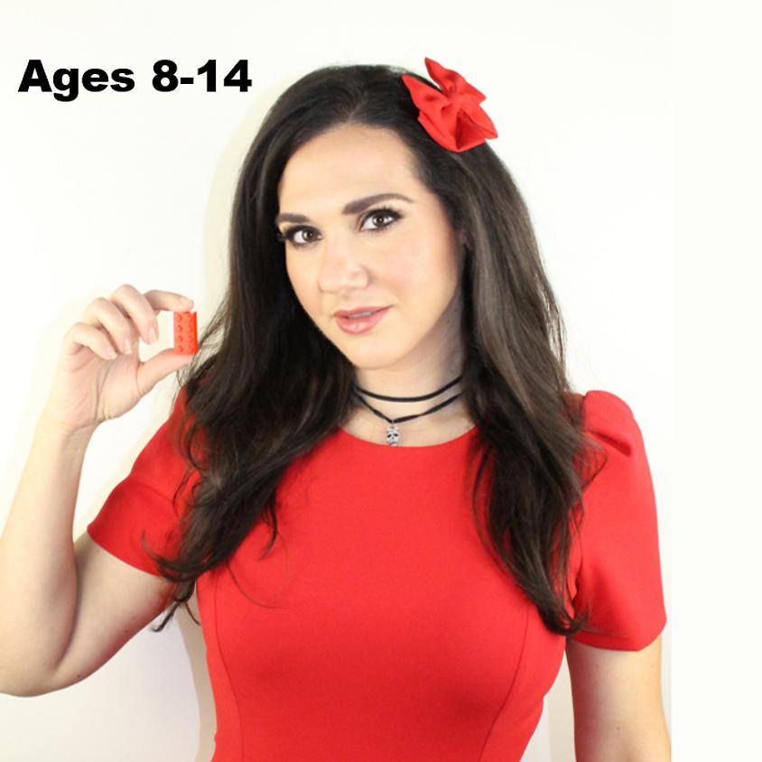 AGES 8-13 (Beginner/Intermediate)                     July 5-9th 2PM-3PM EST