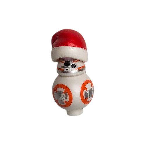 BB8 Holiday Santa Hat Minifig