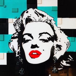 LEGO Lady Marilyn Monroe, Turquoise