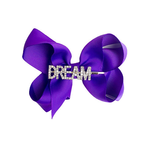 NEW! Jessica DREAM Bow DARK PURPLE