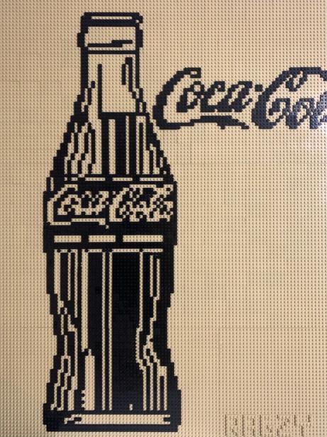 LEGO Warhol Coca Cola