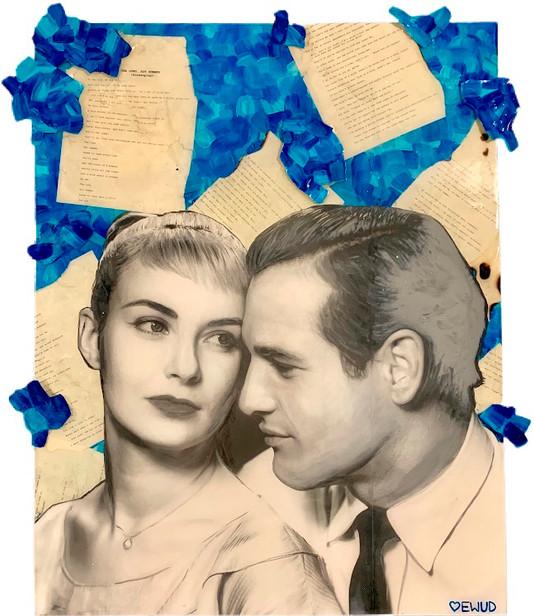 Paul Newman and Joanne Woodward