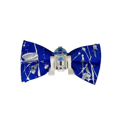 NEW! BLUE DROID BOW TIE