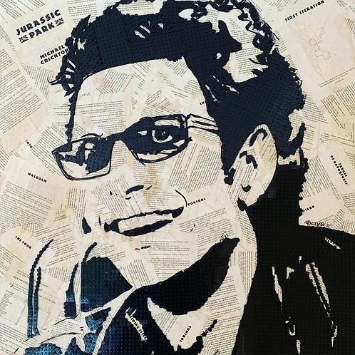 Jeff Goldblum LIMITED EDITION SIGNED Art Print