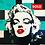 """Thumbnail: LEGO LADY: Turquoise GLAM  30""""X30"""""""