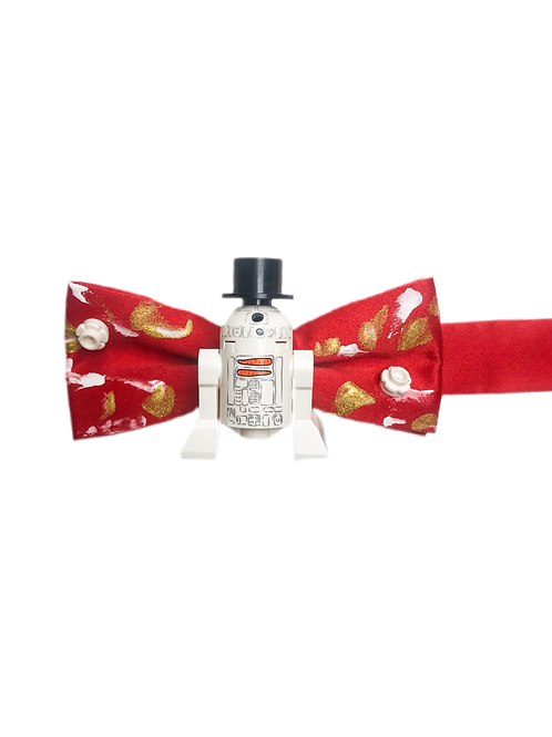 NEW! R2D2 Snowman Holiday Bow Tie