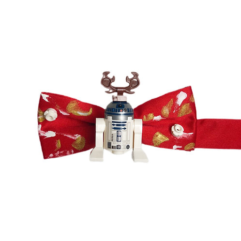 NEW! R2D2 Reindeer Holiday Bow Tie