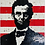 """Thumbnail: LEGO LINCOLN , ALL MEN ARE CREATED EQUAL 30"""" X 40"""""""