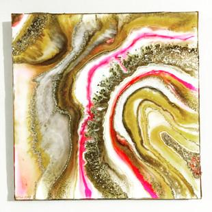 Golden Citrine Geode