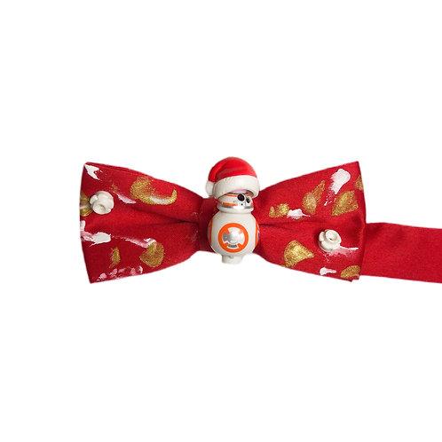 NEW! BB8 Santa Holiday Bow Tie