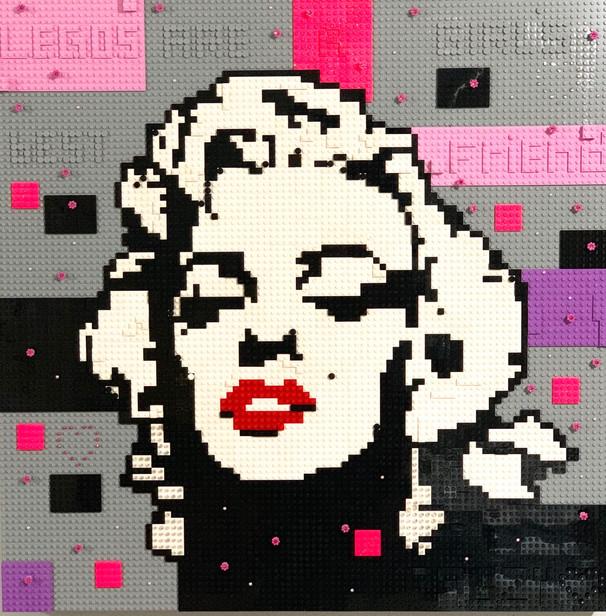 LEGO Lady Marilyn Monroe