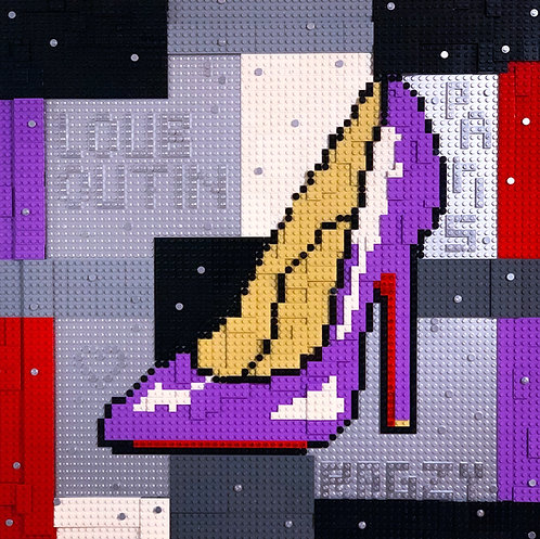 LEGO LOUBOUTIN PURPLE EDITION