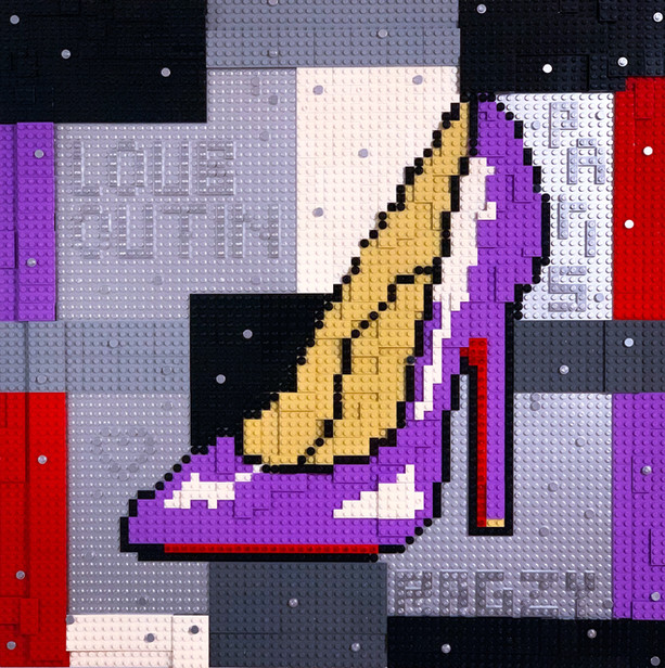 LEGO Louboutin Purple Edition