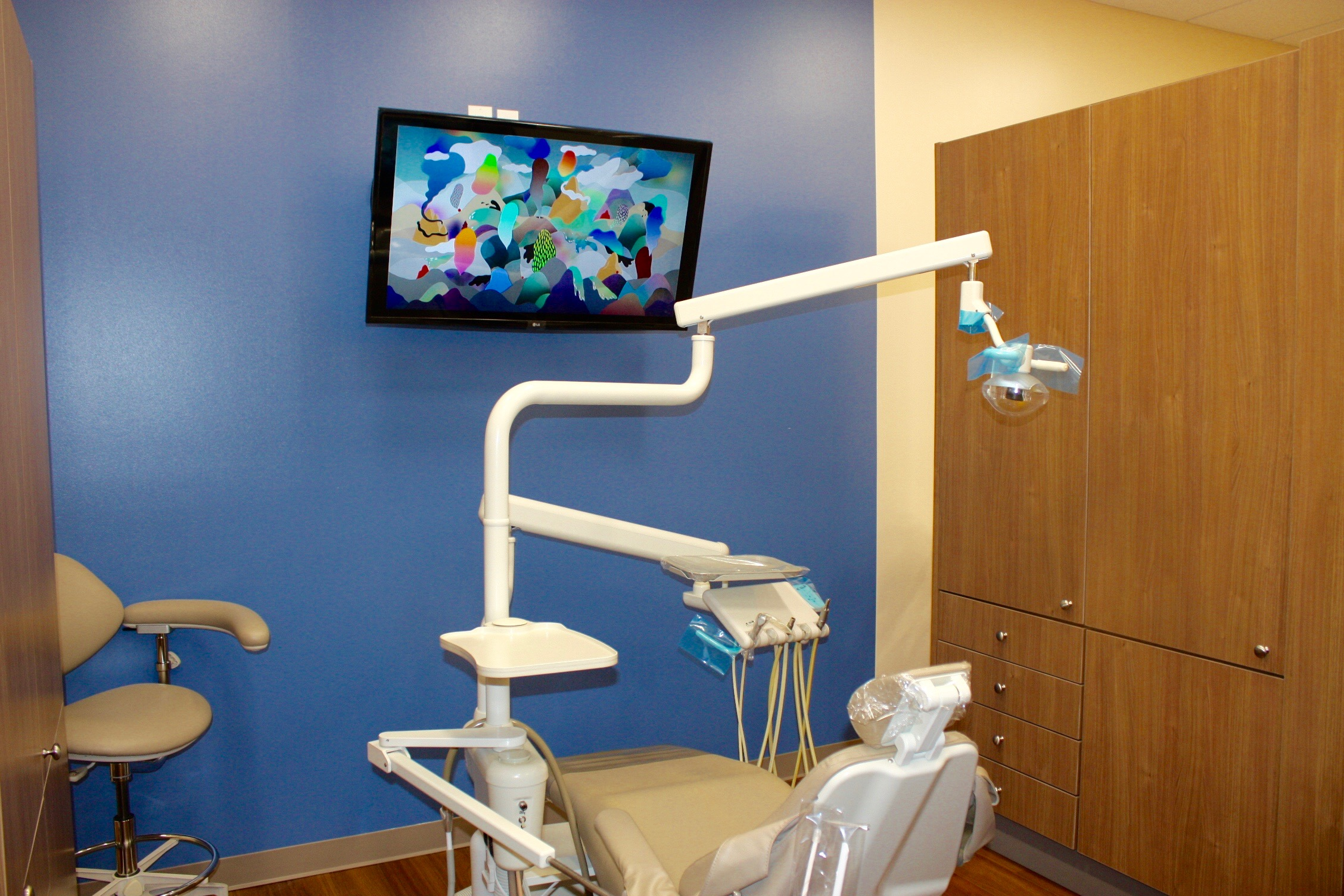Sunrise Dental Auburn Patient Room
