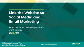 Link your website traffic with your social media and email marketing