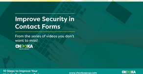 How to improve security in your contact forms