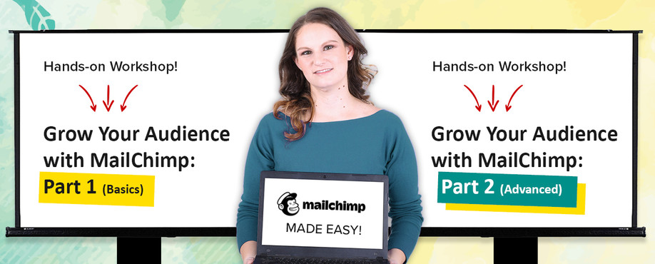 Chooka hands-on workshop grow your audience with mailchimp email marketing