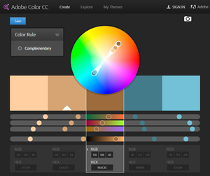 Adobe Color tool