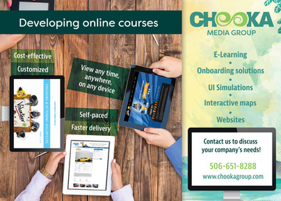 Chooka develops content and produces online couses